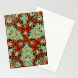 Scifi Rustic Geometric Stationery Cards