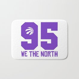 WE THE NORTH 1995 OG PURPLE Bath Mat