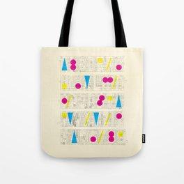 Alphabet Remix #1 Tote Bag