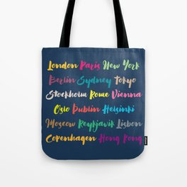 Worldwide United Capitals II Tote Bag