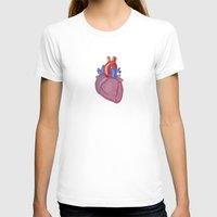 anatomical heart T-shirts featuring Anatomical Heart by Kyle Phillips