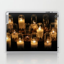 church candles Laptop & iPad Skin