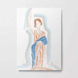 that lady from the movies Metal Print