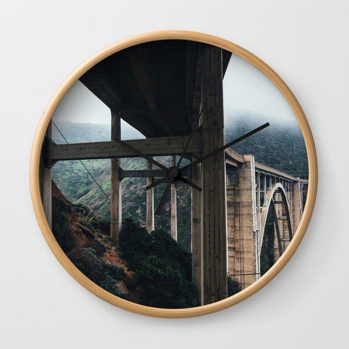 Bixby Bridge, Big Sur, CA Wall Clock