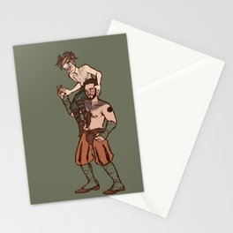 but we are spirits of another sort Stationery Cards