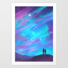 Bright as Day Art Print