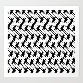 Xtooth Art Print