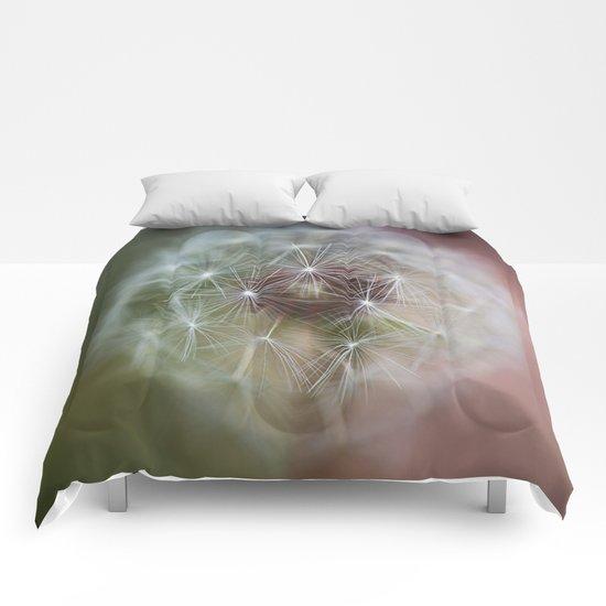 Dandelion Italian Flag Comforters