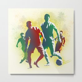 Football is more than a game Metal Print