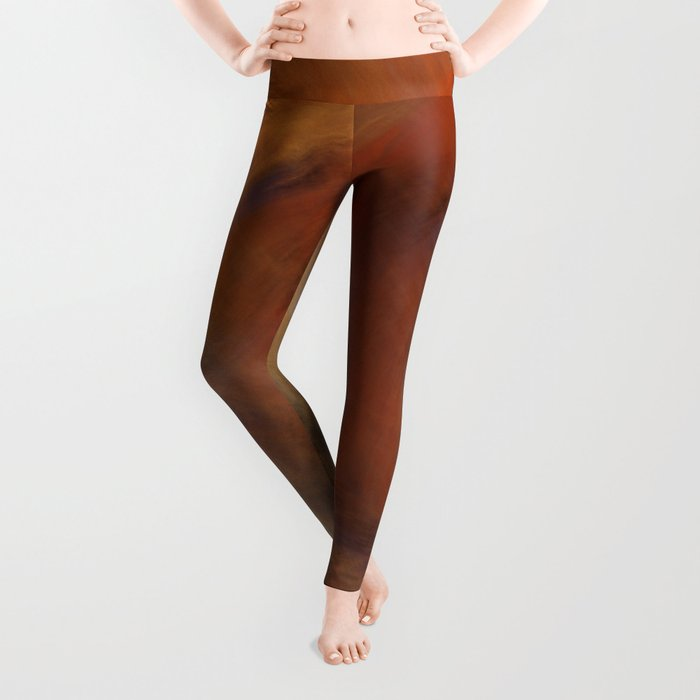 Storm in Space  (A7 B0230) Leggings