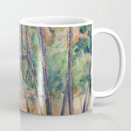 Millstone and Cistern under Trees Coffee Mug