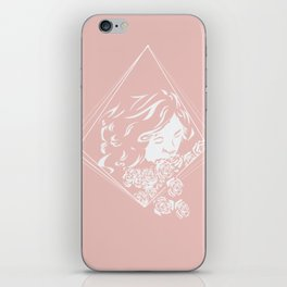 Quietly Pink iPhone Skin
