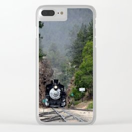 Coming through the Cut at the Rockwood Depot, of the D&SNGR Clear iPhone Case