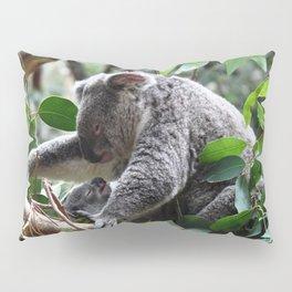 Koala bear Mom and her baby  Pillow Sham