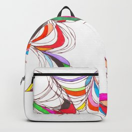 Curvilinear Webbed Form I Backpack