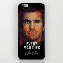 William Wallace - Braveheart iPhone Skin
