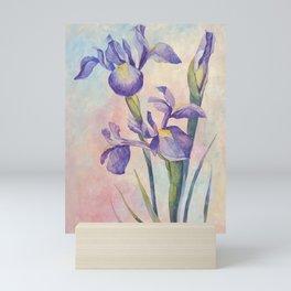 Angel Iris - Joyful Mini Art Print