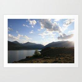 Sunbeam Lake Art Print