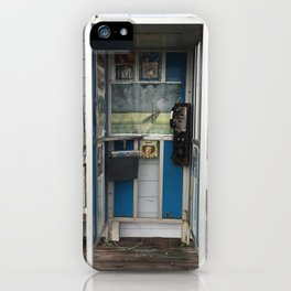 Phone Booth Jimmy iPhone Case