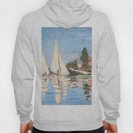 Claude Monet - Regattas at Argenteuil Hoody
