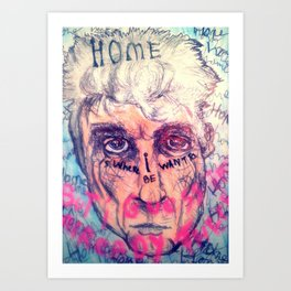 David Byrne Art Print