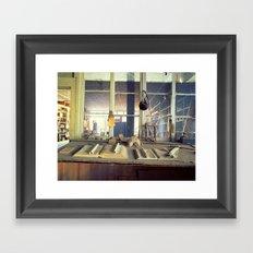 Boom Store Framed Art Print