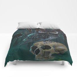 Horned owl Comforters