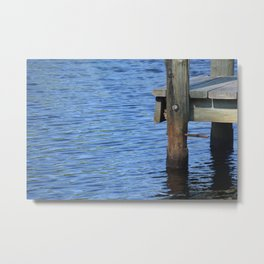 Down By The Dock Metal Print