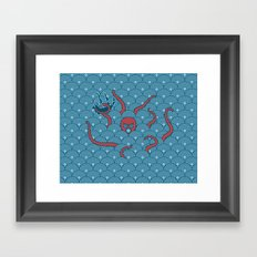 The Last Kraken Framed Art Print