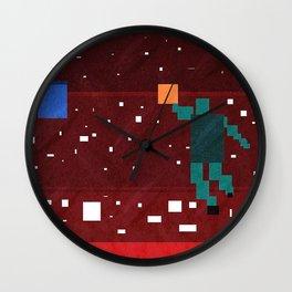 Slam Dunk Basketball art Wall Clock