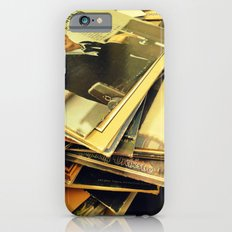 Old Blue Eyes and LPs iPhone 6s Slim Case