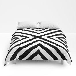 Angled Stripes Comforters