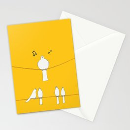 For the Birds Stationery Cards