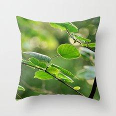 Embrace Nature Throw Pillow