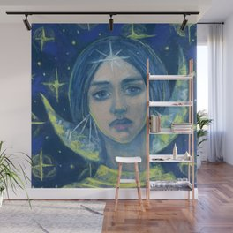 Hecate / Goddess of the Moon Wall Mural