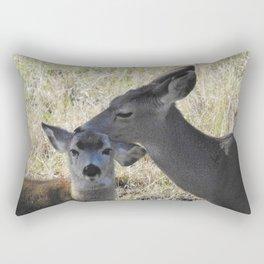 Mama and Her Babe Rectangular Pillow