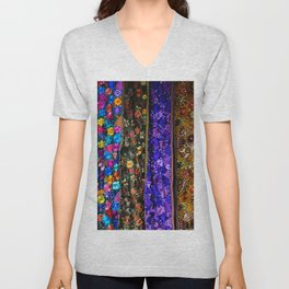 mexican art Unisex V-Neck
