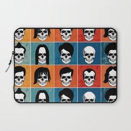 Hairstyles for Skulls Laptop Sleeve