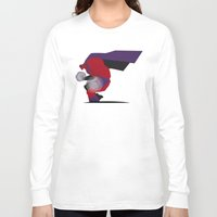 magneto Long Sleeve T-shirts featuring My Magneto by Osvaldo Casanova
