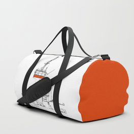 The tower in the Falsterbo channel Duffle Bag