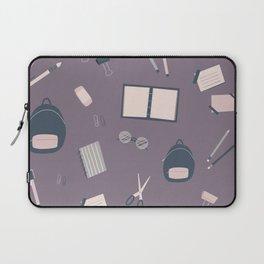 School Supplies Pattern Laptop Sleeve