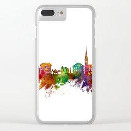 Hallstatt Austria Skyline Clear iPhone Case