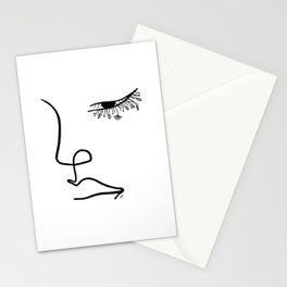 I see flowers Stationery Cards