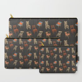 House of Chairs Carry-All Pouch