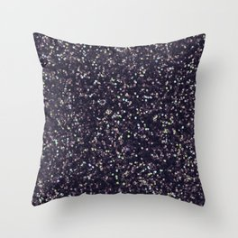 Modern abstract purple lavender lime green confetti Throw Pillow
