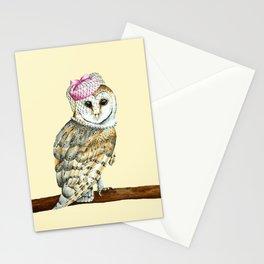 Mrs Barn Owl Stationery Cards