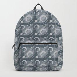 Modern Geometric Pattern 6 in Peninsula Blue Backpack