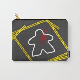 Dead Meeple Crime Scene Carry-All Pouch