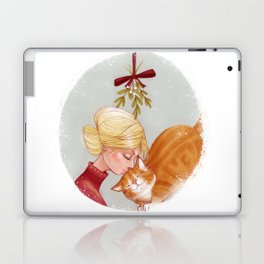 Under the Mewstletoe Laptop & iPad Skin