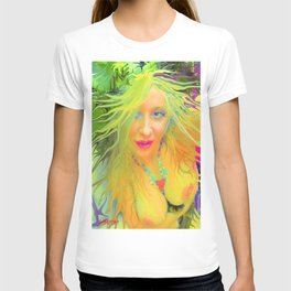 Art,fairy wood nymph,Nude ladykashmir hot ,pink,yellow,i pod,lap top,t shirt,cups,tote ,bags, T-shirt